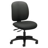 HON 5903CU19T ComforTask Series Iron Ore Fabric Swivel Task Chair