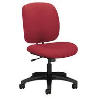 HON 5902CU63T ComforTask Series Marsala Fabric Swivel Task Chair