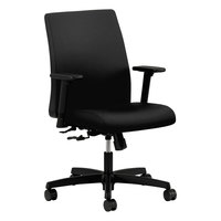 HON IT105CU10 Ignition Series Black Fabric Low-Back Task Chair