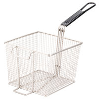 Cecilware 08086L 8 1/2 inch x 8 1/2 inch x 6 5/8 inch Full Size Fryer Basket with Front Hook