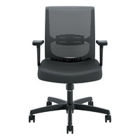 HON CMS1AUR10 Convergence Series Black Mesh Mid-Back Task Chair