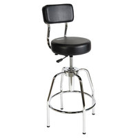ShopSol 3010002 Black Vinyl Heavy-Duty Shop Stool
