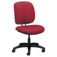 HON 5901CU63T ComforTask Series Marsala Fabric Swivel Task Chair