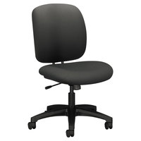 HON 5902CU19T ComforTask Series Iron Ore Fabric Swivel Task Chair