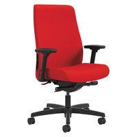 HON LWU2ACU67 Endorse Series Ruby Fabric Mid-Back Work Chair