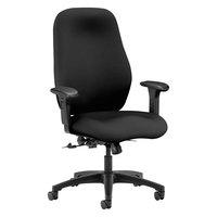 HON 7803CU10T 7800 Series High-Back Black Fabric Task Chair