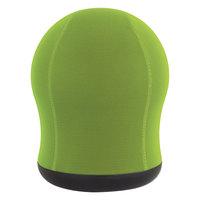 Safco 4760GN Zenergy Green Mesh Swivel Ball Chair