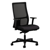 HON IW103CU10 Ignition Series Mid-Back Black / Iron Ore Mesh Office Chair