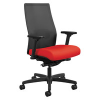 HON I2M2AMLC67TK Ignition Series Mid-Back Ruby Ilira-Stretch Mesh Task Chair
