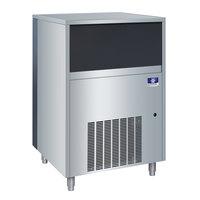 Manitowoc UFF-0350A 29 inch Air Cooled Undercounter Flake Ice Machine with 50 lb. Bin - 115V, 350 lb.