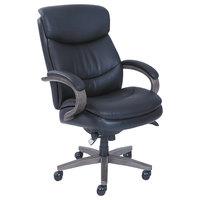 La-Z-Boy 48962A Woodbury High-Back Black Leather Executive Office Chair