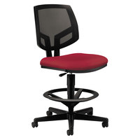 HON 5715GA42T Volt Series Crimson Mesh Adjustable Task Stool
