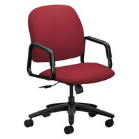 HON 4001CU63T 4000 Series Solutions Seating High-Back Marsala Fabric Executive Office Chair