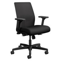 HON I2L1AMLC10TK Ignition Series Low-Back Black Ilira-Stretch Mesh Task Chair