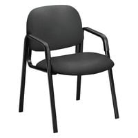 HON 4003CU19T 4000 Series Solutions Seating Iron Ore Fabric Guest Chair