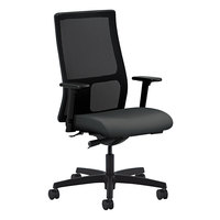 HON IW103CU19 Ignition Series Mid-Back Black Mesh Office Chair