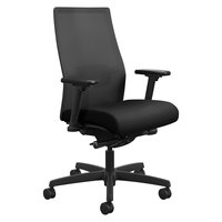 HON I2M2AMLC10TK Ignition Series Mid-Back Black Ilira-Stretch Mesh Task Chair