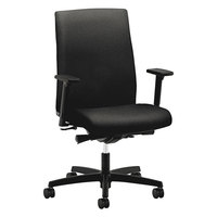HON IW104CU10 Ignition Series Mid-Back Black Fabric Office Chair