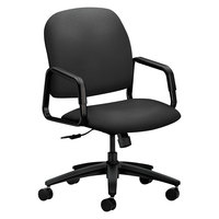 HON 4001CU19T 4000 Series Solutions Seating High-Back Iron Ore Fabric Executive Office Chair