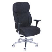 La-Z-Boy 48960 Commercial 2000 Black Leather Ergonomic Office Chair