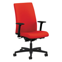 HON IW104CU67 Ignition Series Mid-Back Ruby Fabric Office Chair