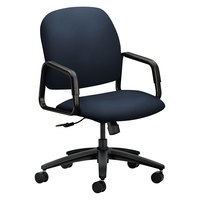 HON 4001CU98T 4000 Series Solutions Seating High-Back Navy Fabric Executive Office Chair