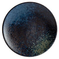Playground 701122391000351 Sea 9 1/8 inch Round Coupe Stoneware Plate - 6/Case