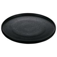 Playground 701122791021090 Nara 10 5/8 inch Black Round Coupe Plate - 6/Case