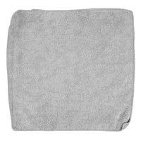 Rubbermaid 1863888 HYGEN Sanitizer Safe 12 inch x 12 inch Gray Microfiber Cloth