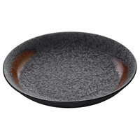 Playground 701132691000593 Lava 10 1/4 inch Deep Round Coupe Plate - 6/Case
