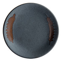 Playground 701121591000593 Lava 5 7/8 inch Round Coupe Stoneware Plate - 6/Case