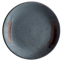 Playground 701122091000593 Lava 7 7/8 inch Round Coupe Stoneware Plate - 6/Case