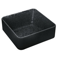 Playground 701321091021090 Nara 6.5 oz. Black Deep Square Bowl - 6/Case