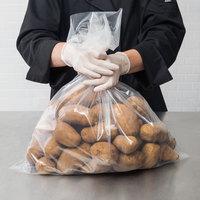 Elkay Plastics 40F-2024 Heavy-Duty Plastic Food Bag 20 inch x 24 inch Flat - 250/Box