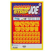 Drag Strip Joe 5 Window Pull Tab Tickets - 4000 Tickets per Deal - Total Payout: $3125