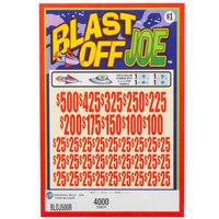 Blast Off Joe 5 Window Pull Tab Tickets - 4000 Tickets per Deal - Total Payout: $3125