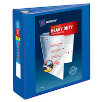 Avery 79811 Pacific Blue Heavy-Duty View Binder with 3 inch Locking One Touch EZD Rings