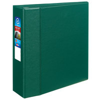 Avery 79784 Green Heavy-Duty Non-View Binder with 4 inch Locking One Touch EZD Rings