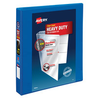 Avery 79720 Pacific Blue Heavy-Duty View Binder with 1 inch Locking One Touch Slant Rings