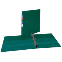 Avery 79789 Green Heavy-Duty Non-View Binder With 1 inch Locking One Touch EZD Rings