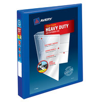 Avery 79772 Pacific Blue Heavy-Duty View Binder with 1 inch Locking One Touch EZD Rings