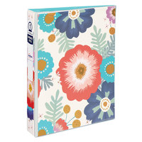 Avery 18701 Mini Durable Big Floral Non-View Binder with 1 inch Round Rings