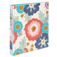 Avery 26800 Fashion Durable Big Floral View Binder with 1 inch Round Rings