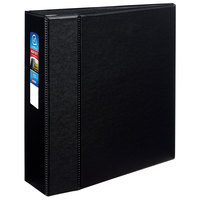 Avery 79984 Black Heavy-Duty Non-View Binder with 4 inch Locking One Touch EZD Rings