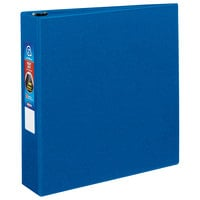 Avery 79882 Blue Heavy-Duty Non-View Binder with 2 inch Locking One Touch EZD Rings