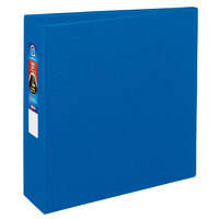 Avery 79883 Blue Heavy-Duty Non-View Binder with 3 inch Locking One Touch EZD Rings