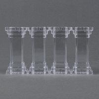 Wilton 303-801 4 inch Fillable Cake Pillars - 4 / Pack