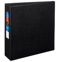Avery 79983 Black Heavy-Duty Non-View Binder with 3 inch Locking One Touch EZD Rings