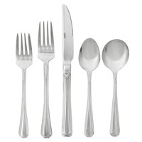 Core Landsdale by Acopa 18/8 Stainless Steel Extra Heavy Weight Flatware Set with Service for 12 - 60/Pack
