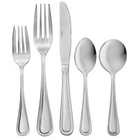 Core Edgewood 18/0 Stainless Steel Heavy Weight Flatware Set with Service for 12 - 60/Pack